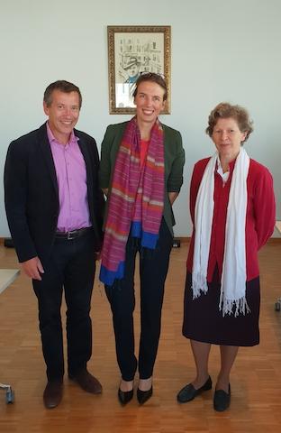 Jean-Philippe Pierron, Cécile Ezvan, Cécile Renouard